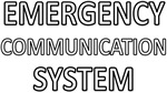 Emergency Communication System - White
