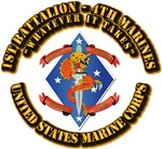 USMC - 1st Bn - 4th Marines with Text