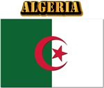 Algeria Flag w Text