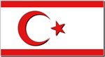 Turkish Rep of Northern Cyprus FLag