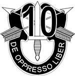 10th Special Forces - DUI - No Txt