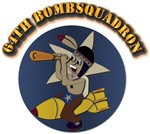 64th Bombsquadron with Text