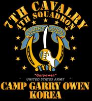 4/7 Cav - Camp Gary Owen Korea