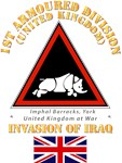 UK - 1st Armoured Division - Iraq Invasion