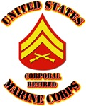 USMC - Sleeve - Corporal - Retired