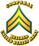Army - Corporal E-4 - Retired