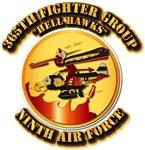 AAC - 365th FG - 9th AF - Hell Hawks