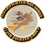 AAC - 428th FS - 474th FG - 9th AF