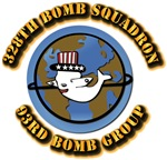 AAC - 328th Bomb Squadron,93rd Bomb Group