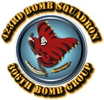 AAC - 423rd Bomb Squadron - 306th Bomb Group - 8th