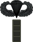 Cheif Warrant Officer 4 - Pin-On - Airborne