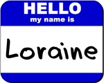 hello my name is loraine