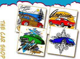 Car Crazy T-Shirts and Gifts