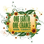 One Earth One Chance T-Shirts and Gifts