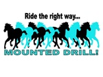 Ride the Right Way Turquoise