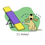 Funny See-Saw Agility Cartoon