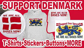 Support Denmark Freedom of Speech Gear