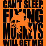 Can't Sleep, Flying Monkeys will get me is a wonderful, yet humor filled, design for any Wizard of Oz fan.