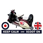 Keep Calm and Scoot On