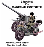 Baghdad Commute Scooter