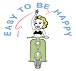 Easy To Be Happy Scooter Baby Blonde