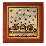 Vintage Keepsake Box - Tile - Framed Tile