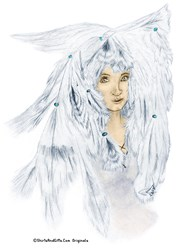 Native American Cloud Eagle Woman Art Gifts
