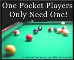 One Pocket Game Pool Tees, Gifts For Men