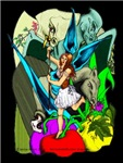 Gothic Dragon Fruit Fairy fantasy art gifts