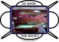 No Room For Doubt Billiards Pool Hall Gifts