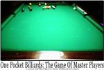1 Pocket Billiard Sports Masters, Tees For Men