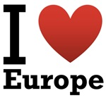 I Love Europe Light Tee