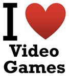 I Love Video Games Light Tee