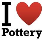 I Love Pottery Light Tee
