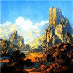 Maxfield Parrish 1870-1966/Landscapes