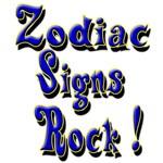 Rockin' Zodiac Signs