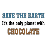 Save the earth! It's the only...