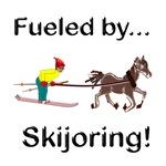 Skijoring Horse