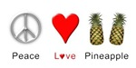 Peace Love Pineapple
