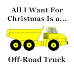 Christmas Off Road Truck