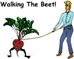 Woman Walking the Beet