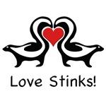 Love Stinks Skunks
