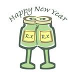 Happy New Years Toast