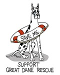 Support Great Dane Rescue (Harlequin)