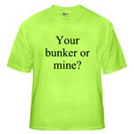 your bunker or mine? - one great design