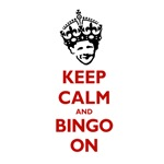 KEEP CALM and BINGO ON