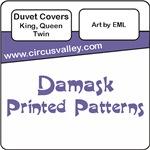 Damask Pattern Bedding