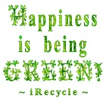 Happiness is being Green