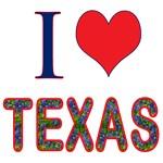 I (Heart) Love Texas Bluebonnet