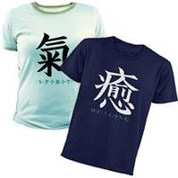 Healing, Spirit & Truth Kanji Character T-Shirts